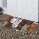 Classic vintage multi color printed Outdoor Door mat outside home