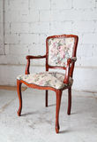 Classic vintage old wooden chair Royalty Free Stock Image
