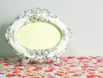 Classic vintage picture frame. Blank of classic vintage picture frame Stock Image