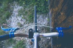 classic vintage racing bike Royalty Free Stock Photography