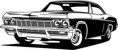 Free Classic Vintage Retro American Legendary Car Chevrolet Impala Royalty Free Stock Image - 176594896