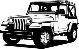 Free Classic Vintage Retro Legendary American Car Jeep Wrangler Stock Photo - 205195090
