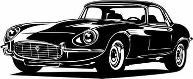 Free Classic Vintage Retro Legendary British Car Jaguar E-Type Royalty Free Stock Images - 204111629