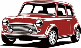 Free Classic Vintage Retro Legendary British Car Mini Morris Stock Image - 204165911