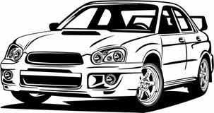 Free Classic Vintage Retro Legendary Sport Car Subaru Impreza Royalty Free Stock Photos - 159282028