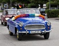 Classic vintage Skoda Felicia cabriolet Royalty Free Stock Image