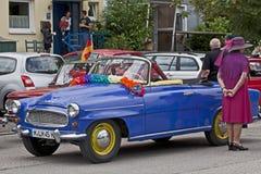 Classic vintage Skoda Felicia cabriolet Royalty Free Stock Photo
