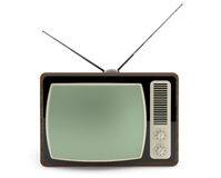 Classic vintage TV Stock Image