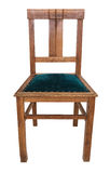 Classic vintage wooden chair in retro style. Stock Images