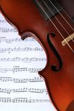 Classic Violin Stock Photo