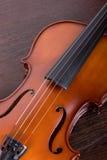 Classic violin closeup Stock Images