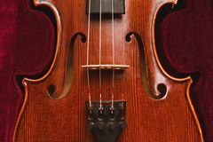 Classic violine Stock Photos