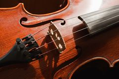Classic violine Royalty Free Stock Photography