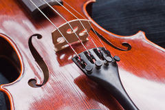 Classic violine Royalty Free Stock Photos