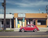 Classic Volkswagen Beetle Royalty Free Stock Photo