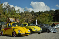 Classic Volkswagen Beetle car Royalty Free Stock Image