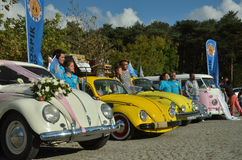 Classic Volkswagen Beetle car Stock Photos