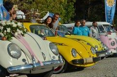 Classic Volkswagen Beetle car Stock Photography