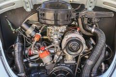 Classic Volkswagen Beetle Engine Stock Images