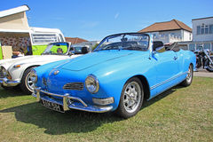 Classic volkswagen karmann ghia car Royalty Free Stock Photography
