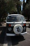 Classic volkswagen Van Royalty Free Stock Photography