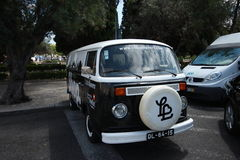 Classic volkswagen Van Royalty Free Stock Images