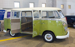 Classic 1966 Volkswagon Bus Royalty Free Stock Photo