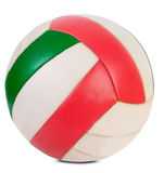Classic volley ball. Isolated Stock Photo