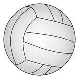 Classic volleyball, vector illustration Stock Photo