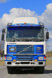 Classic Volvo F10 Intercooler Truck Tractor Royalty Free Stock Photos