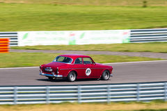 Classic Volvo racing car Royalty Free Stock Photography