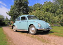 Classic Car: VW Beetle, modell 1962 Royalty Free Stock Photography
