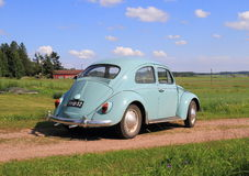 Classic Car: VW Beetle, modell 1962 Stock Photos