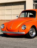 Classic VW Custom Auto. This classic 1974 Beetle belongs to a friend of mine. Very nicely customized Stock Photos