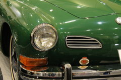 Classic vw front detail royalty free stock photo