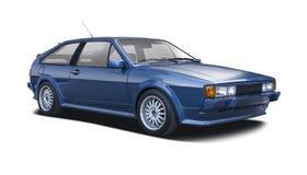 Classic VW Scirocco Stock Photo