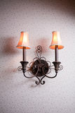 Classic wall lamp Stock Photos