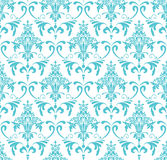 Classic wallpaper ornament. Classic wallpaper with Victorian ornament, seamless pattern royalty free illustration