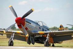 Classic wartime airplane royalty free stock photos