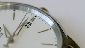 Classic watches close up stock footage