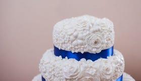 Classic wedding cake Stock Photos