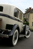Classic wedding car Royalty Free Stock Image