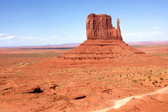 The Classic Western Landscape in Monument Valley ,Utah. United States Royalty Free Stock Photos