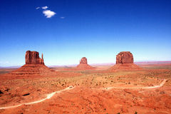 The Classic Western Landscape in Monument Valley ,Utah Stock Photos