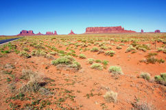 The Classic Western Landscape in Monument Valley ,Utah. United States Stock Images