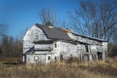 Classic White Barn Royalty Free Stock Photo