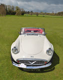 Classic white Daimler Dart SP250 Sports car Stock Image