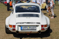 Classic white Porche at boca raton resort Stock Image