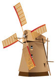 Classic windmill Stock Photography