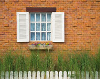Classic window Royalty Free Stock Photo